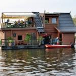 Berlin maritim: Scampi auf der Spree-Arche