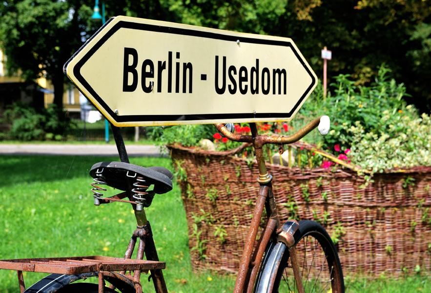 Wegweiser Berlin-Usedom
