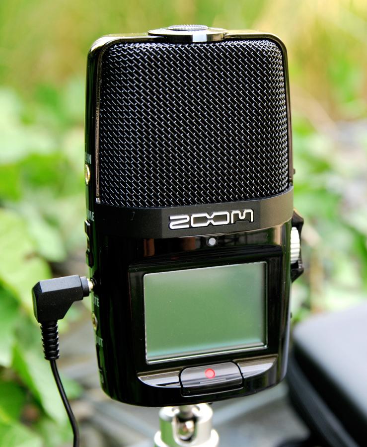 Digitales Aufnahmegerät Zoom H2n