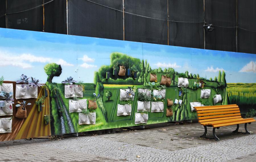 Die Hängenden Beete von Kreuzberg
