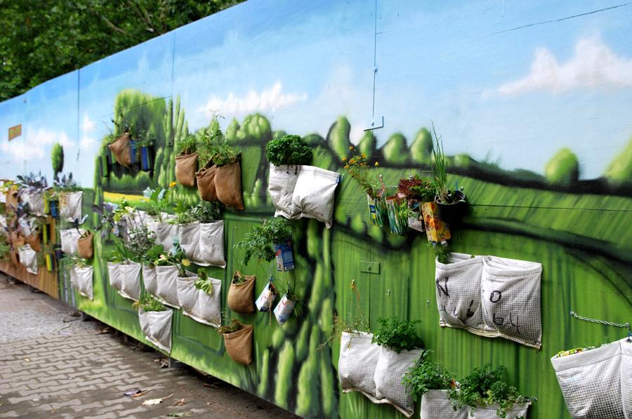 Hängende Gärten vom Mehringplatz