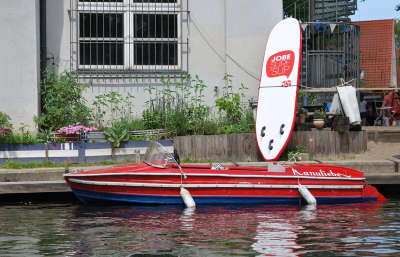 Auch auf der Insel der Jugend lässt sich stillvoll pedalieren. Foto: Kleine Fluchten Berlin