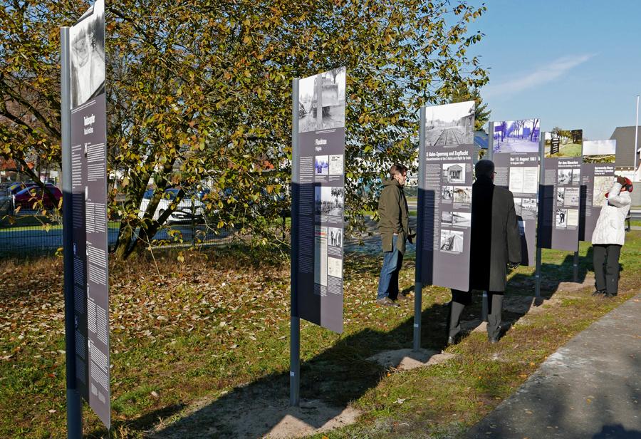 Die Open-Air-Ausstellung eröffnete am 13. November 2016. Foto: Kleine Fluchten Berlin
