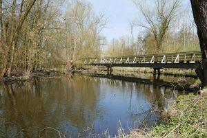 Brücke über das Tegeler Fließ