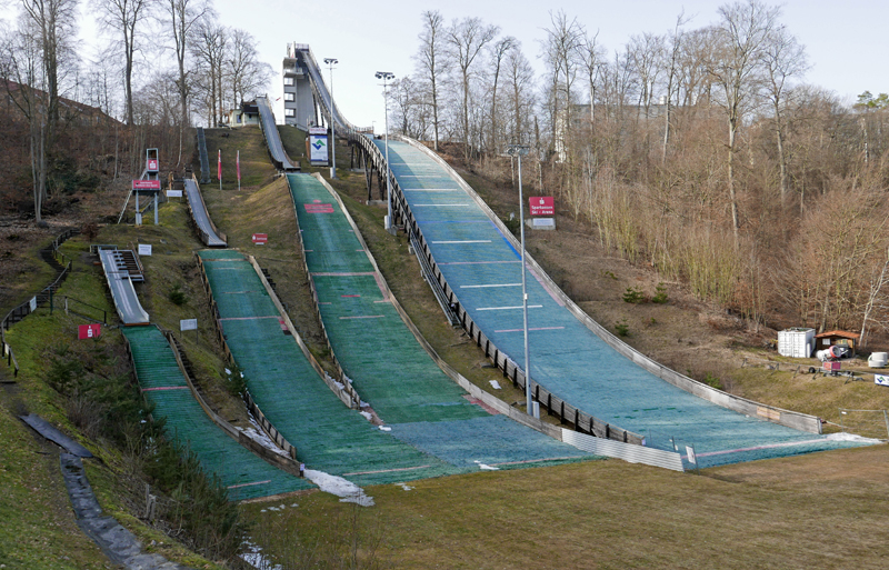 Sprungschanze Bad Freienwalde